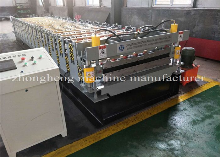 Double Layer Roll Forming Machine testing