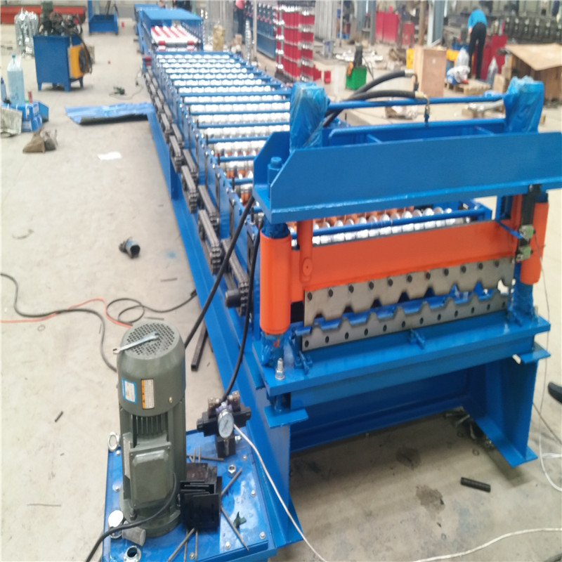 R101 Roof Panel Roll forming machine for Mexico