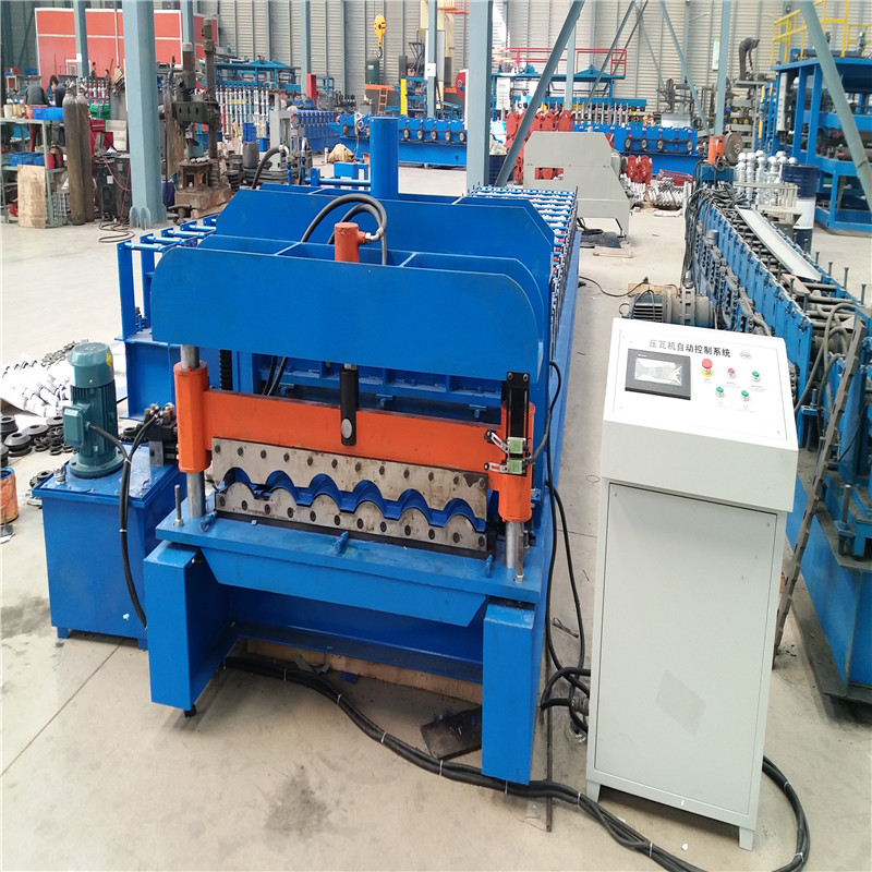 ZH1000 Metal roofing step tile forming machine