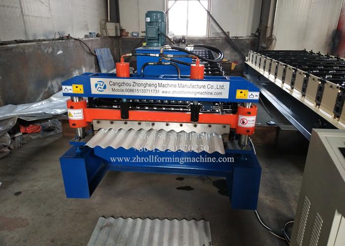 Galvanized Iron Roof Sheet Making Machine