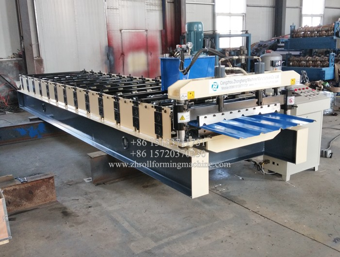 AG Roofing Panel Roll Forming Machine