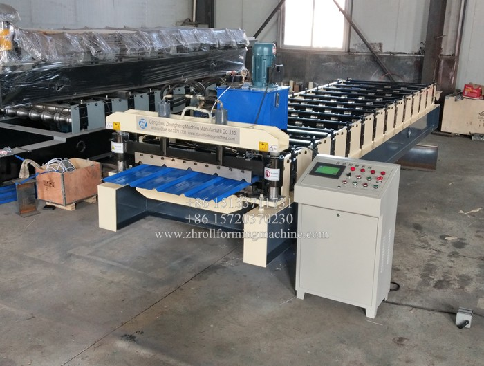 Galvanized Iron Roof Sheet Making Machine