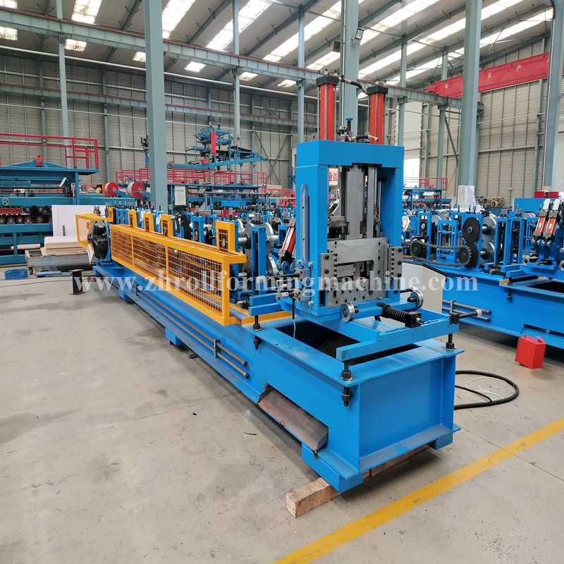 We have C Z purlin roll forming machine in stock