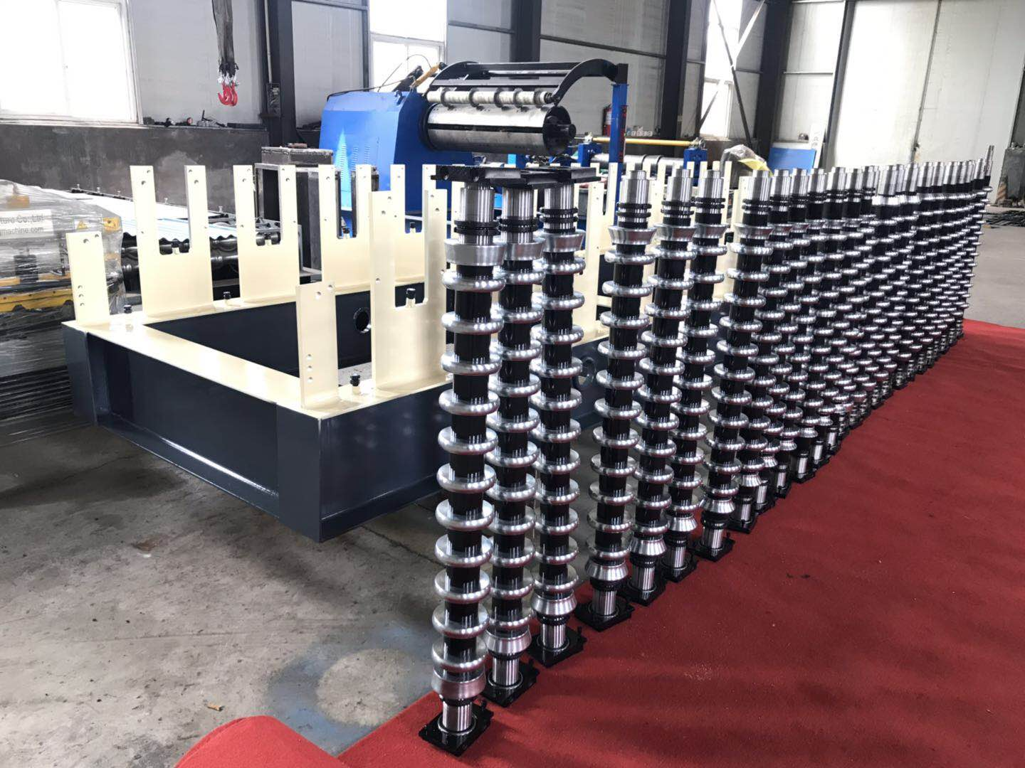 New order for roofing sheet making machine