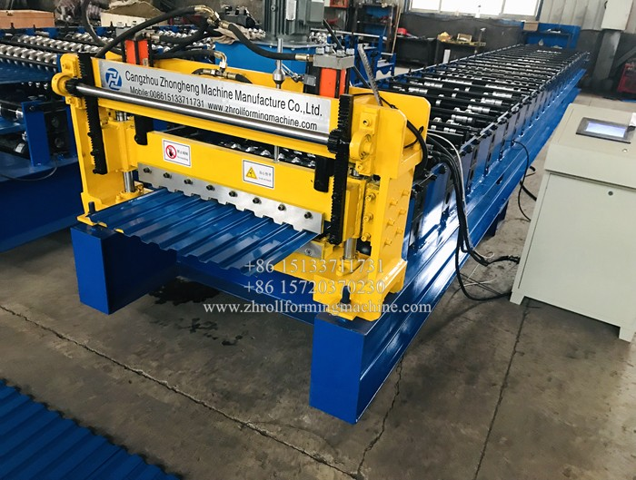914 Feeding Shutter door roll forming machine