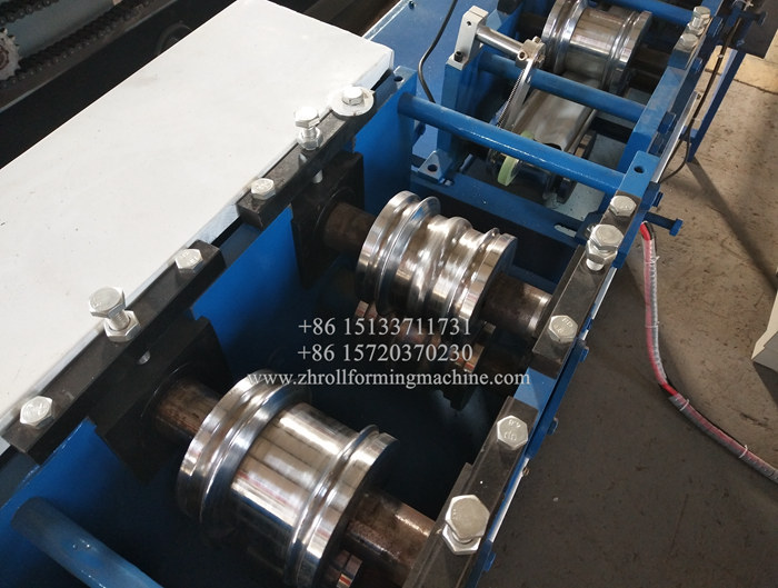 Two in one Roller shutter strip forming machine