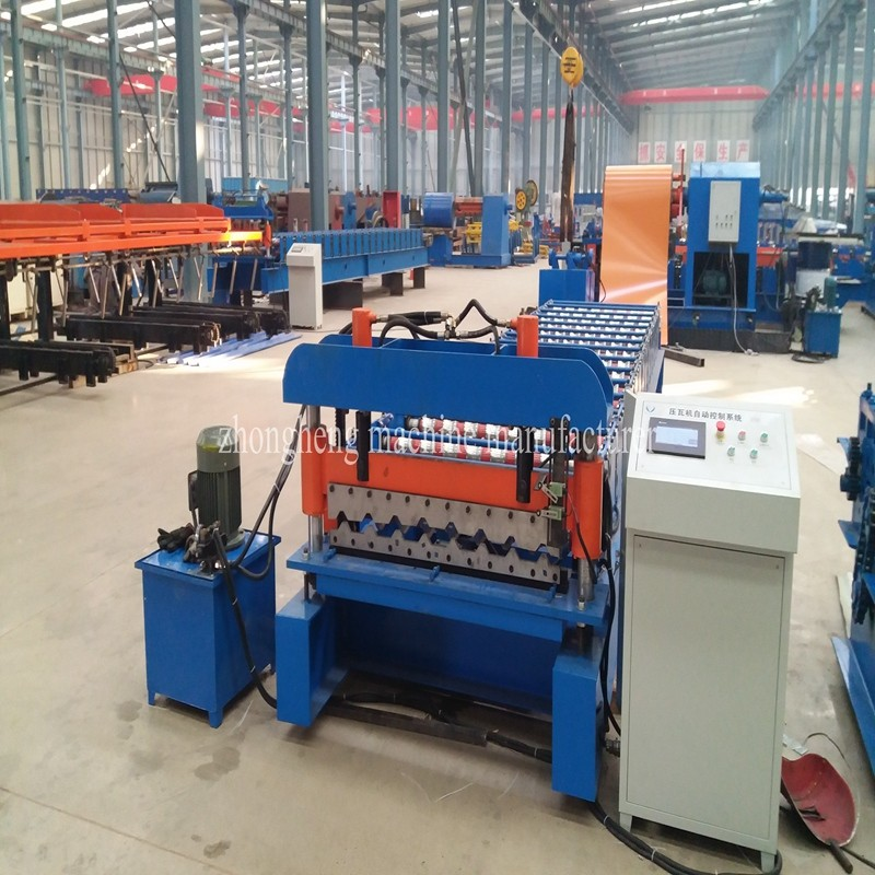 Roofing Sheet Making Machine | Roll Forming Machine Factory