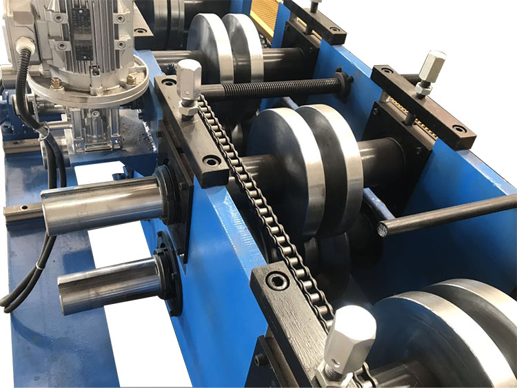 300-500mm C/U section Purlin Cold Roll Forming Machine for Construction