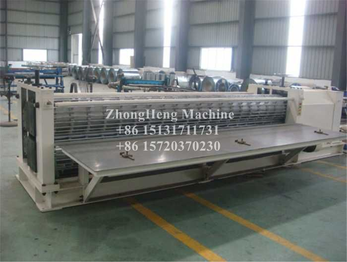 Thin Panel Barrel Sheet Forming Machine 18-76