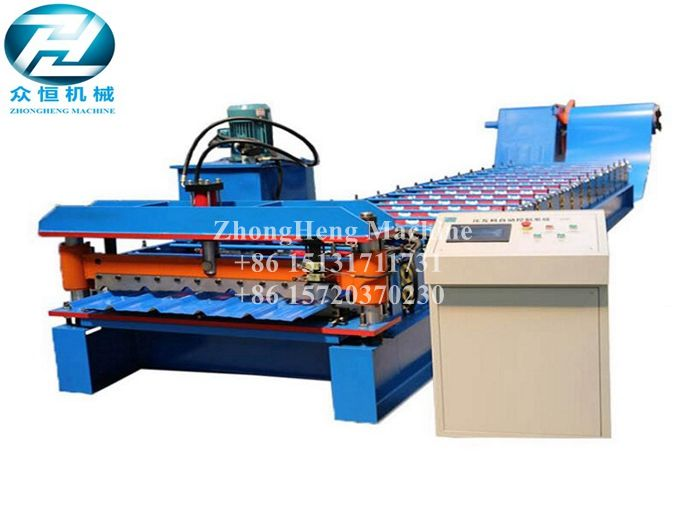 UK Market Metal Roof Forming Machine 32-250-1000