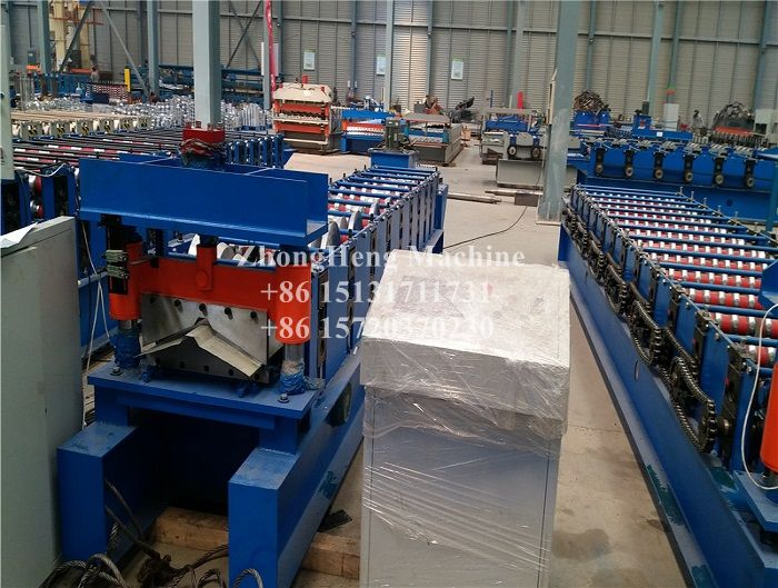 Color Steel Ridge Cap Forming Machine