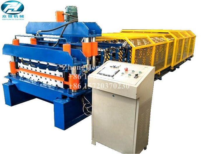 Two in One Metal Roof Glazed Tile Roll Forming Machine