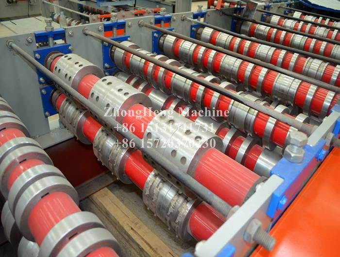 Three in one Steel Floor Decking Roll Forming Machine