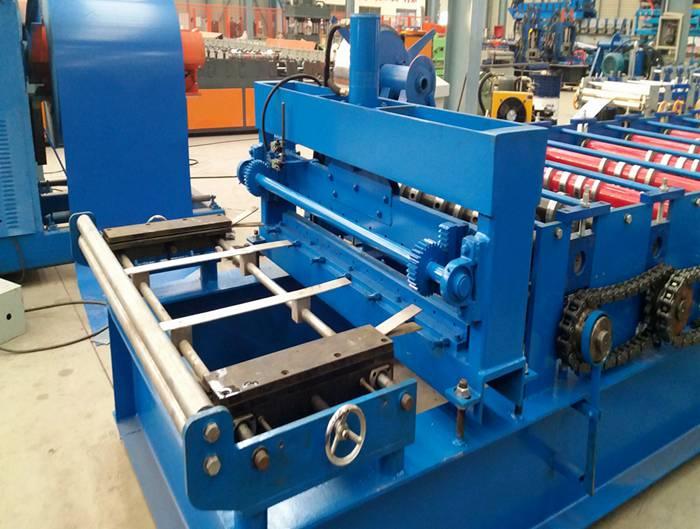 Galvanized Steel Floor Deck Panel Roll Forming Machine