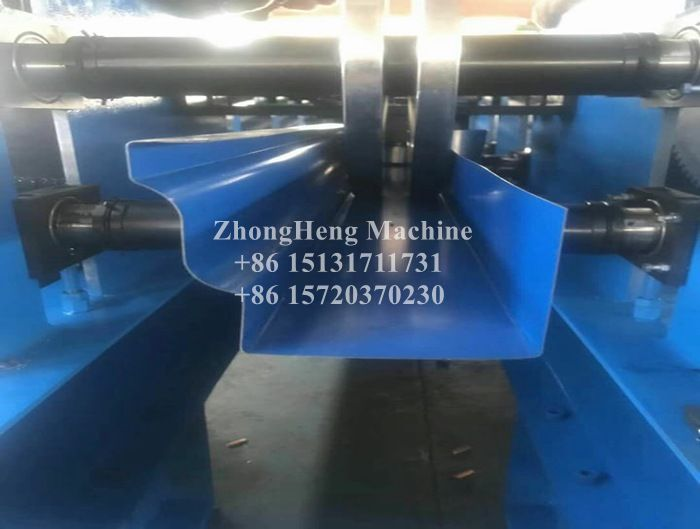 K Style Metal Roof Gutter Roll Forming Machine
