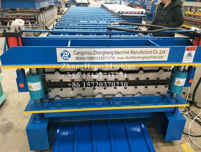 Bolivia Market Double Layer Metal Roof Forming Machine