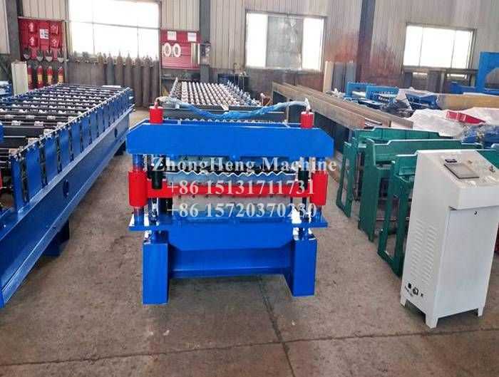 Two In one IBR and Corrugated Roof Sheet Making Machine