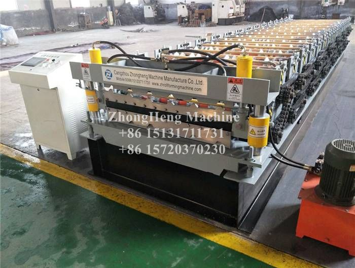 Galvanized Steel Roof R Panel PBR Roll Forming Machine