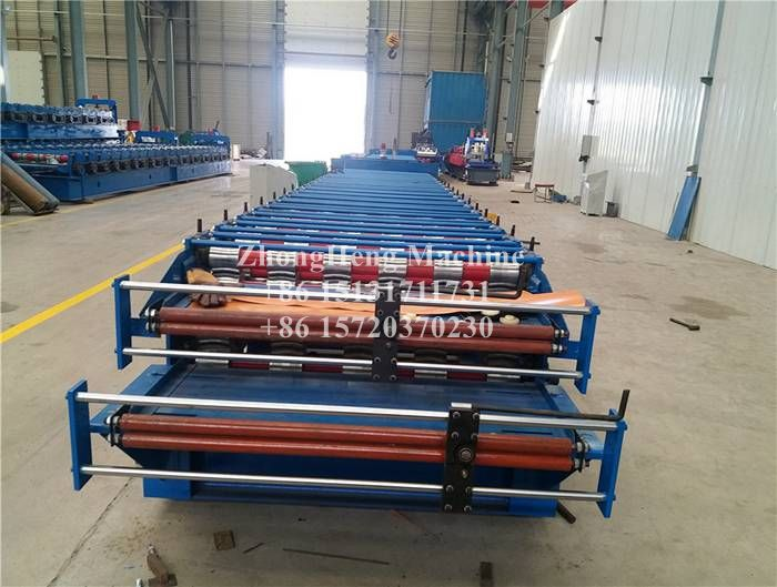 Mexico R101 Metal Roofing Sheet Roll Forming Machine