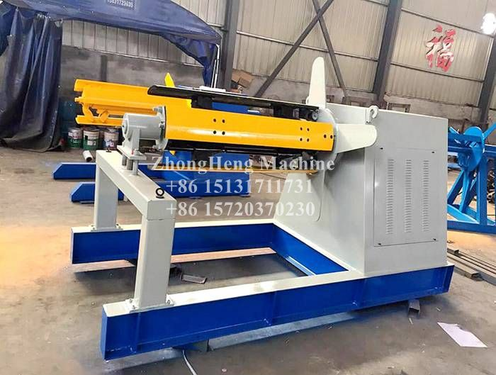 5T Hydraulic Decoiler with Coil Car