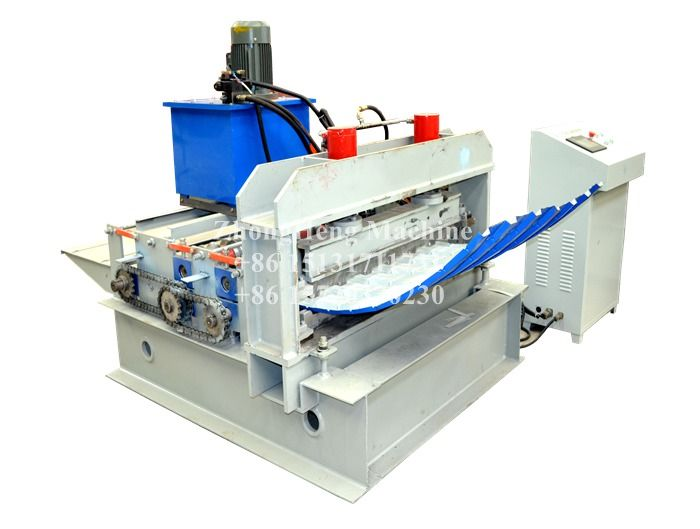 New Design Hydraulic Roof Sheet Crimping Machine