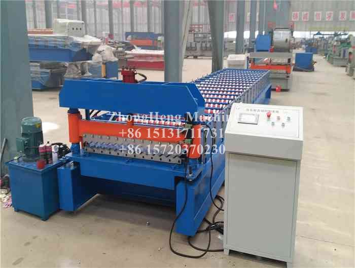 Automatic Corrugated Galvanized Sheet Roll Forming Machine