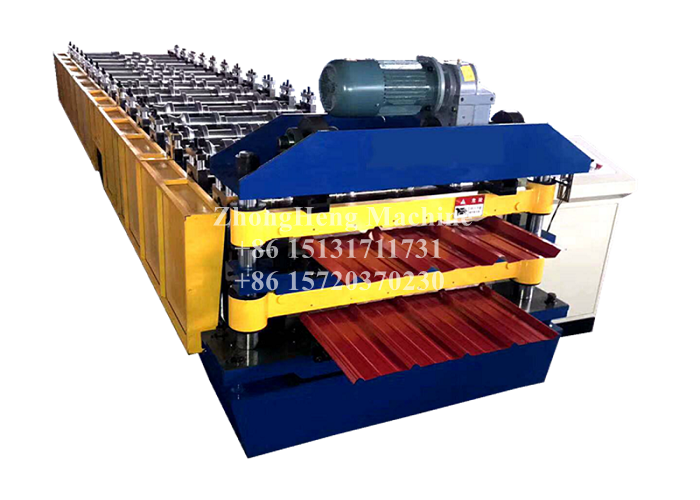 We Do High Standard Metal Roof Forming Machine