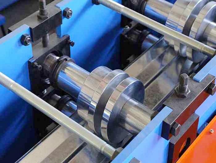Galvanized Steel Door Frame Roll Forming Machine