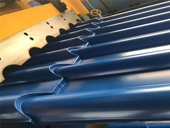 Aluminium Metcoppo Roof Tile Sheet Forming Machine