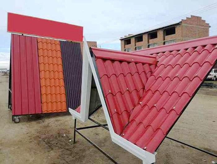 African Market Metal Roof Tile Making Machine