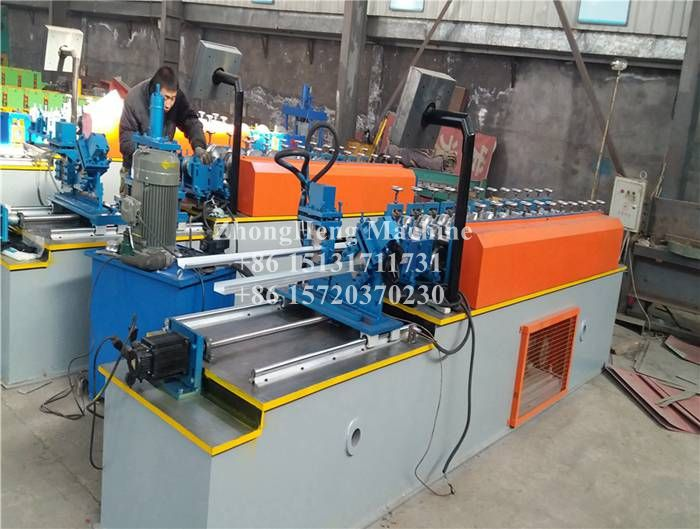 Two in One Omega Angle Profile Roll Forming Machine