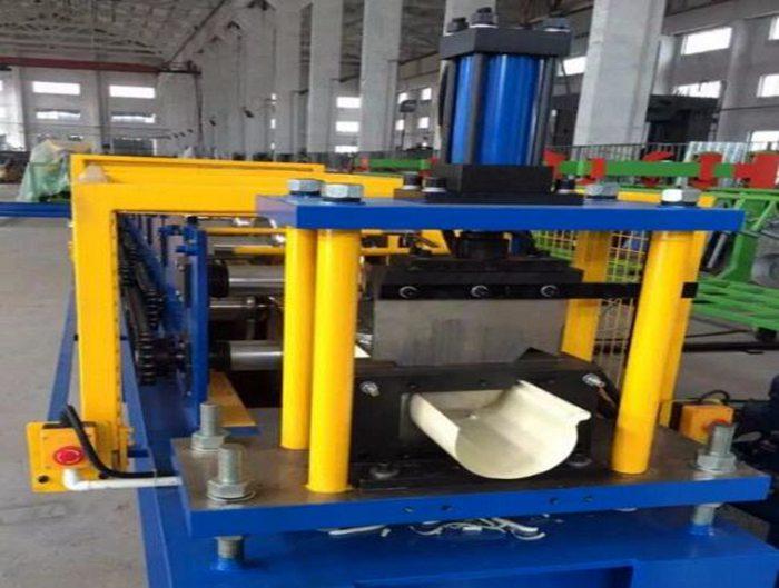 Aluminium Steel Half Round Gutter Roll Former